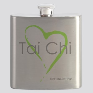 taichi heart - middle Flask