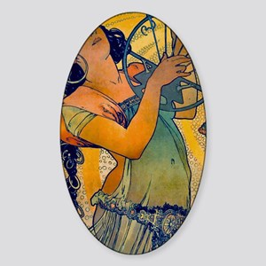 SALOME_1897 Sticker (Oval)