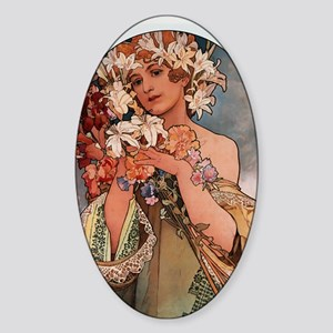 FLOWER_1897 Sticker (Oval)