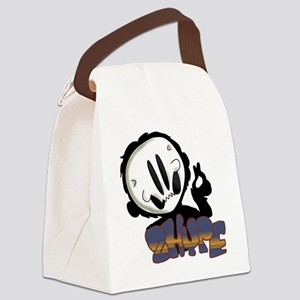 2 Hype Canvas Lunch Bag