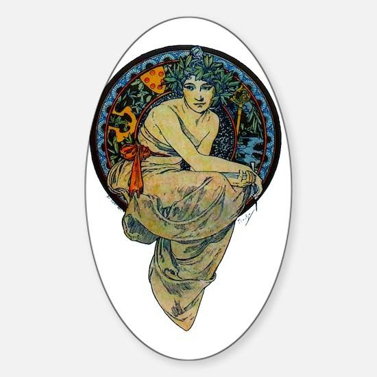 2-Image1 Sticker (Oval)