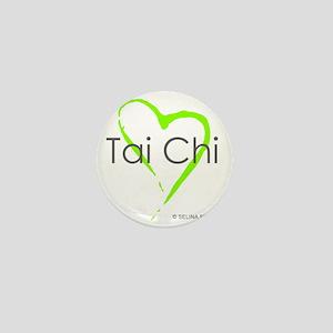 taichi hearti Mini Button