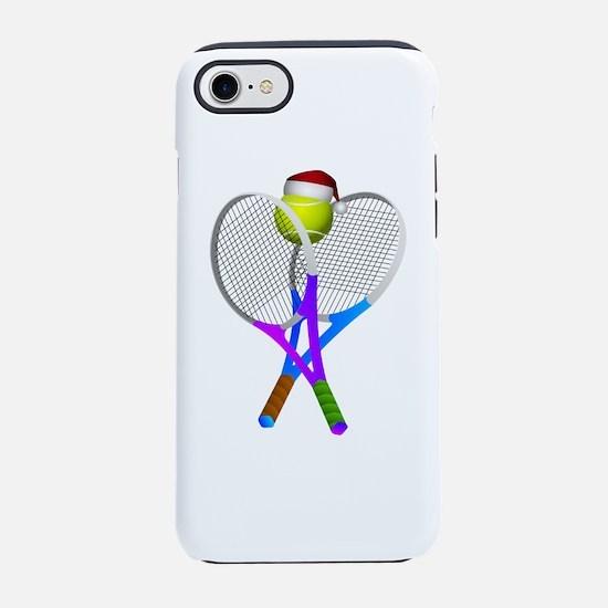Christmas Tennis Ball with San iPhone 7 Tough Case