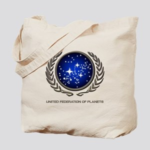 STAR TREK UFP Insignia Tote Bag