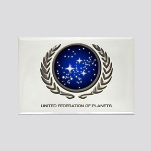 STAR TREK UFP Insignia Rectangle Magnet