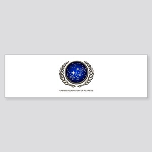 STAR TREK UFP Insignia Sticker (Bumper)