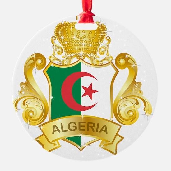 Gold1Algeria1 Ornament