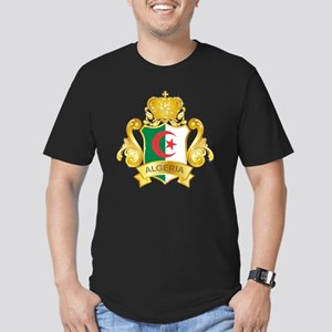 Gold1Algeria1 Men's Fitted T-Shirt (dark)