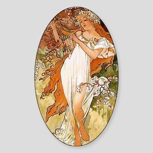 SPRING_1896 Sticker (Oval)