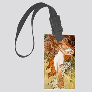 SPRING_1896 Large Luggage Tag