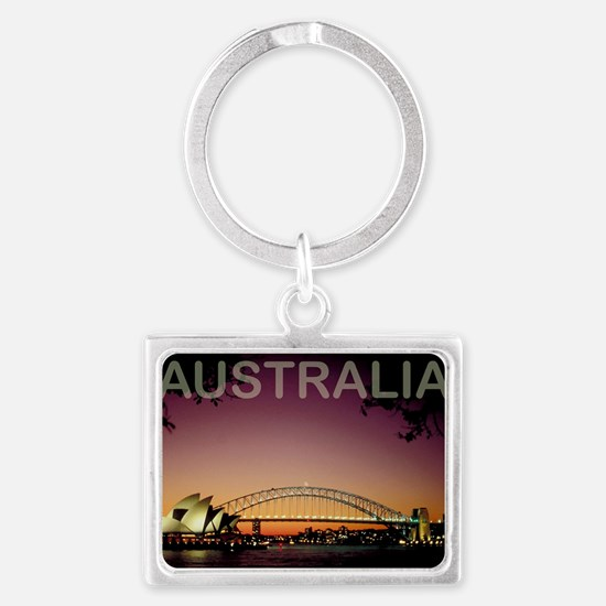 australia14 Landscape Keychain