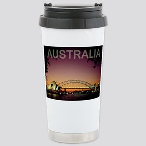 australia14 Stainless Steel Travel Mug