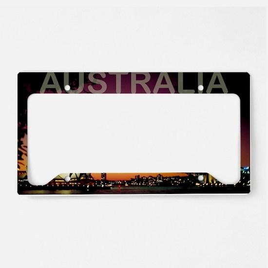 australia14 License Plate Holder