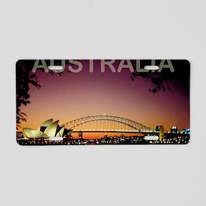 australia14 Aluminum License Plate