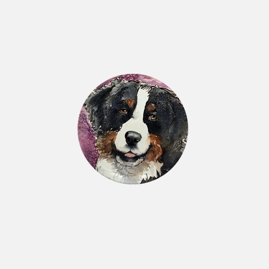 Bernese Eyes of Trust Square Mini Button
