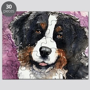 Bernese Eyes of Trust Square Puzzle