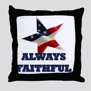 alwaysfaithful23 Throw Pillow
