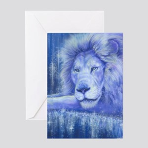 Dream Lion Greeting Card