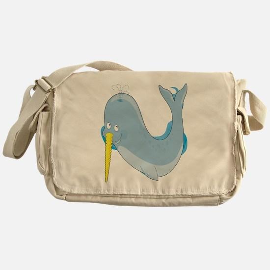 animal alphabet N Messenger Bag