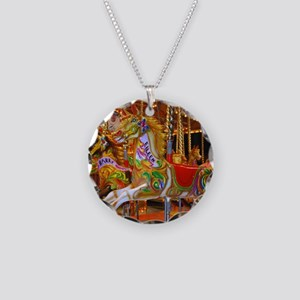 Fairground Attraction Necklace Circle Charm