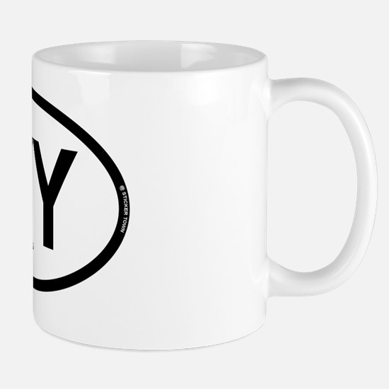 wy wyoming oval rec 1 Mug