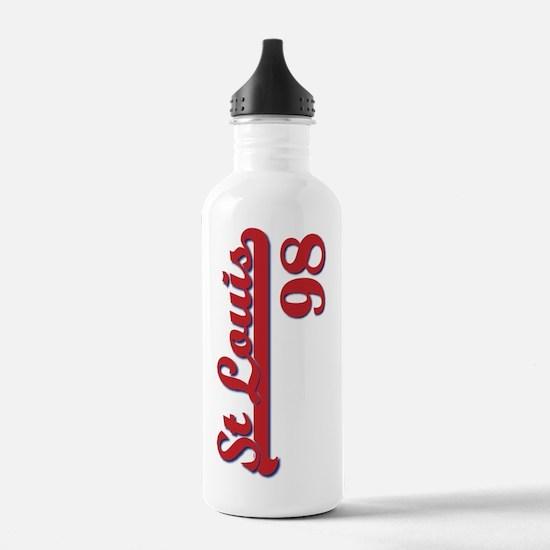 STLblueRed98-02 Water Bottle