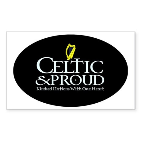 CelticProud_Eire5x3oval_sticke Sticker (Rectangle)