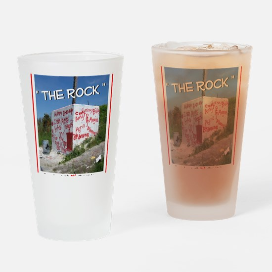 Rock Drinking Glass