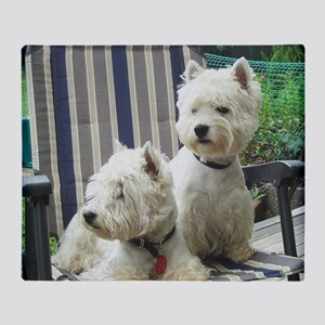 Westiechairsq Throw Blanket