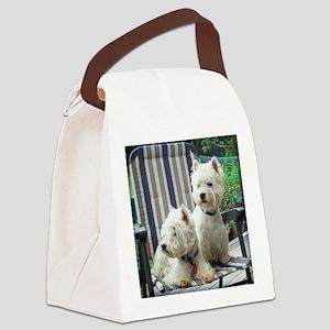 Westiechairsq Canvas Lunch Bag