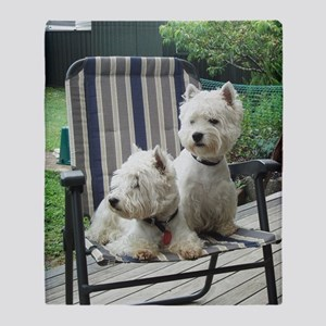 Westiechairect Throw Blanket