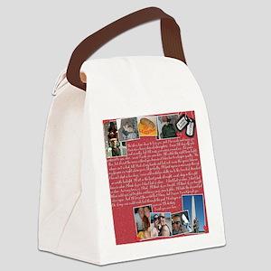 Nicole Sharpe Pillow Canvas Lunch Bag