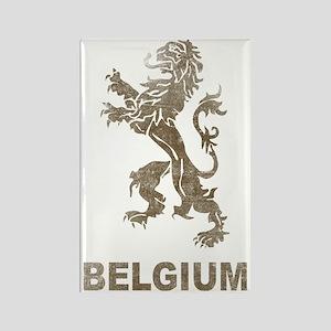 Vintagebelgium4 Rectangle Magnet