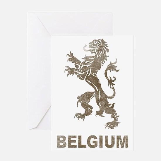 Vintagebelgium4 Greeting Card