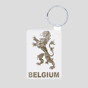 Vintagebelgium4 Aluminum Photo Keychain