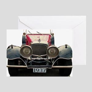 1937 Jaguar! Greeting Card