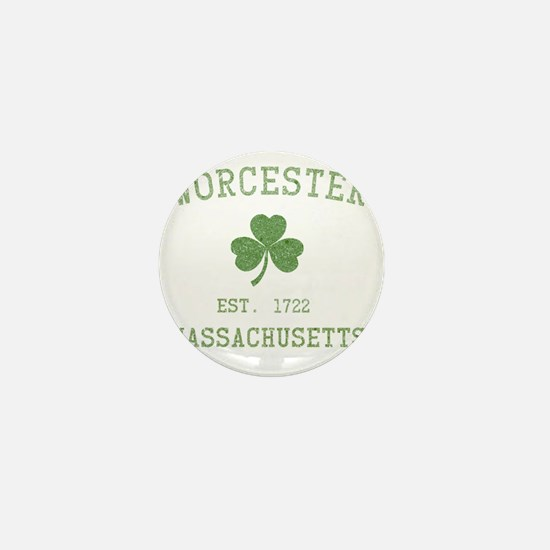 worcester-massachusetts Mini Button