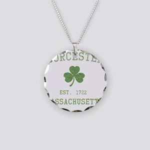 worcester-massachusetts Necklace Circle Charm