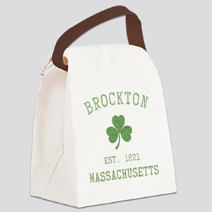 brockton-massachusetts Canvas Lunch Bag