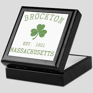 brockton-massachusetts Keepsake Box