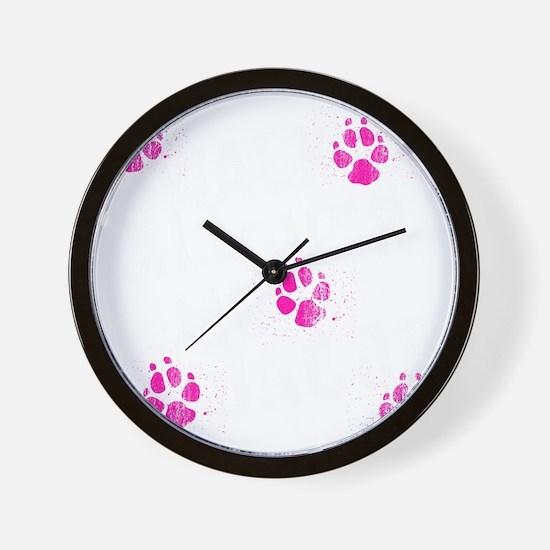 walk all ovr me-dks Wall Clock