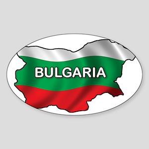 bulgaria2 Sticker (Oval)
