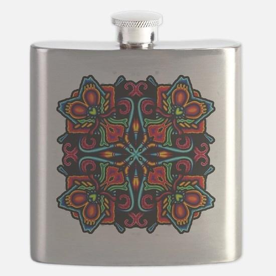 CP_mayanmandala4 Flask