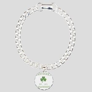 nantucket-massachusetts- Charm Bracelet, One Charm