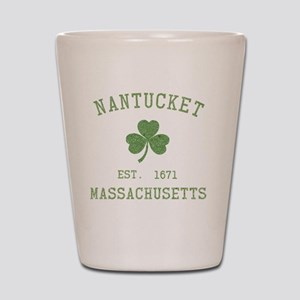 nantucket-massachusetts-irish Shot Glass