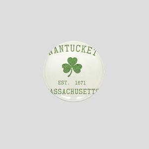 nantucket-massachusetts-irish Mini Button