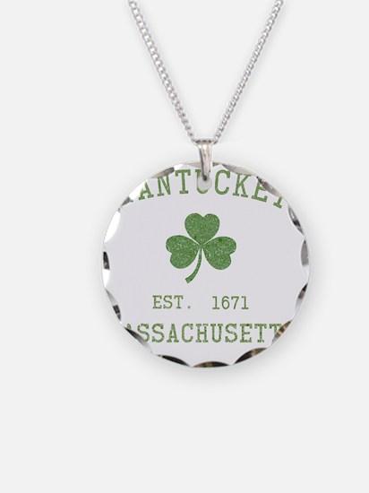 nantucket-massachusetts-iris Necklace