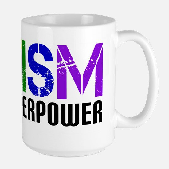 Autism is my Superpower Large Mug