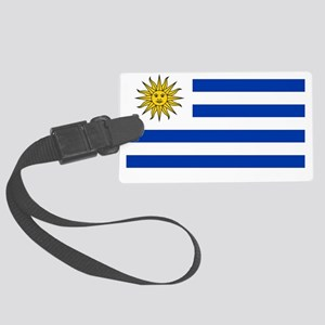 Flag_of_Uruguay  2222222 Large Luggage Tag