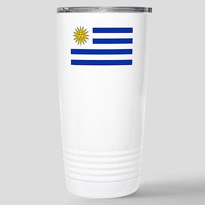 Flag_of_Uruguay  2222222 Stainless Steel Travel Mu